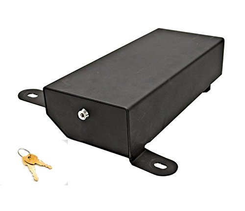 Bestop 42640-01 HighRock 4x4 Under Seat Lock Box for 2007-2018 Wrangler JK, Driver side (Does not fit 2011-2018 Wrangler JK 2-Door models) ()