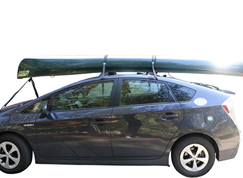 Self Inflatable Car Roof Rack - Ski Rack / Snowboard / Paddleboard / Kayak / Canoe / Luggage / Ladder (Ski Holder For Car)