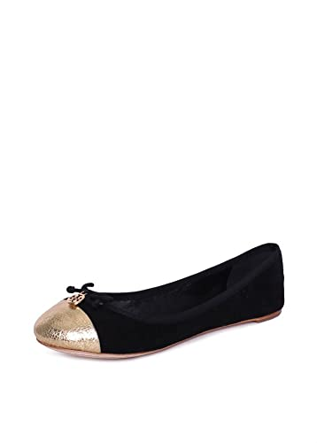 48c0c4088 Amazon.com  Tory Burch Chelsea Ballet w Cap Toe Soho Lux Suede Flats ...