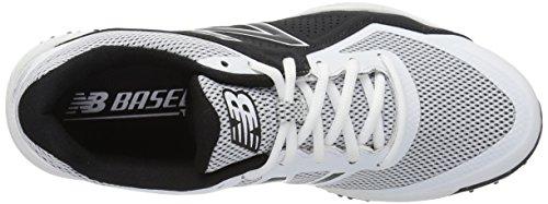 New Balance Herren T4040v4 Rasen Baseball-Schuh Weiß