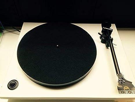 Vinyl Guru Fibra de Carbono Alfombrilla Tocadiscos: Amazon.es ...