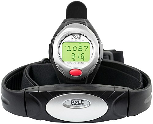 Pyle Sports PHRM40 One Button Heart Rate Watch with 3D Runni