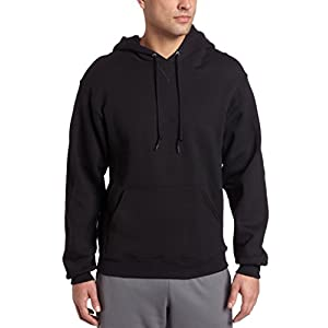 Russell Athletic Men's Dri-Power Pullover Fleece Hoodie, Black, Large