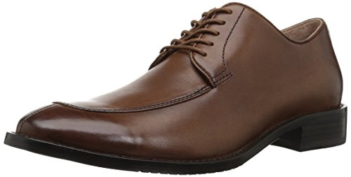 206 Collective Men's Harrison Dress-Split-Toe Oxford, Cognac Leather, 12 D US - Split Toe Oxfords