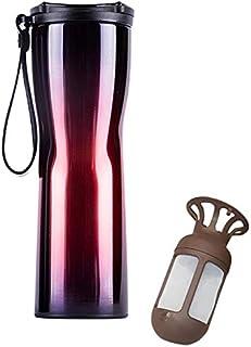 ZhangHongJ,Tasse à Vide portative en Acier Inoxydable pour Eau Potable(Color:Multi-A)
