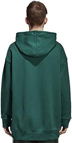Mens Adidas Originals Trefoil Oversize Hoodie CW1248