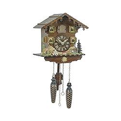 Quartz Cuckoo Clock Swiss house TU 432 Q