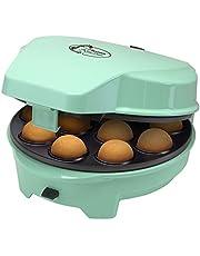 Bestron ASW238 3-in-1 cakemaker in Sweet Dreams design, voor donuts, muffins en cakepops, antiaanbaklaag, 700W, muntgroen