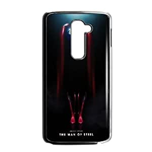 Man Of Steel Suit LG G2 Cell Phone Case Black phone component RT_236155