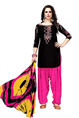 Embroidered Salwar Suit - 7