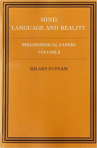 Libro Epub Gratis Philosophical Papers: Volume 2, Mind, Language And Reality, Paperback: Mind, Language And Reality V. 2