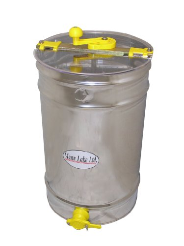 Mann Lake HH160 Stainless Steel 6/3-Frame Hand Crank Extractor without Legs by Mann Lake