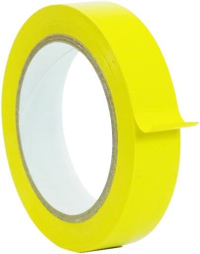 SPVC 1 roll Yellow Vinyl Tape 1 inch x 36 yd