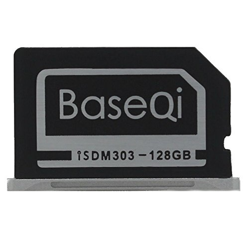 BASEQI Aluminum 128GB Storage Expansion Card for MacBook Pro Retina 13