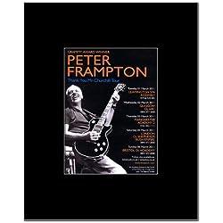 PETER FRAMPTON - UK Tour 2011 Mini Poster - 13.5x10cm