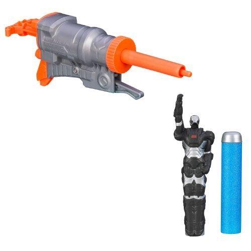 Nerf Marvel Avengers Initiative Iron Man 3 Flyers Blaster Gun Toy - War Machine