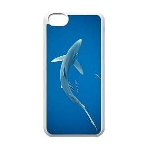 EZCASE Deep Sea Shark Phone Case For Iphone 5C [Pattern-4]