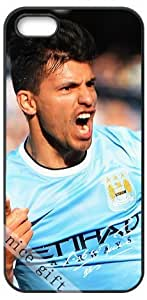 Sergio Aguero signed FC star HD image case cover for iphone 5 5S black A Nice Present by ruishernameMaris's Diary