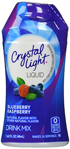 Crystal Light Juice - Crystal Light Liquid Concentrate 1.62 oz. bottle (Pack of 6) (Blueberry Raspberry)