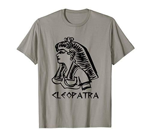 Cleopatra T-Shirt Ancient Egypt Egyptian Ruler History Tee