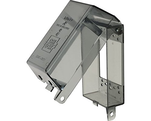 Arlington Industries DBPV1C Dri-Box Clear Vertical Mount