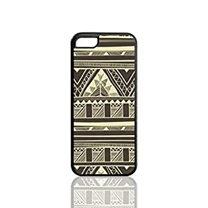 Black Vintage Aztec Custom Hard Plastic back cell Phones Case for Apple iphone5c - iphone 5c Case Cover