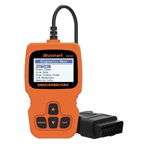 Blusmart Universal OBD2 Scanner Car Engine Fault Code Reader,Enhanced OBD II Code Reader Diagnostic Scan Tool For Car,SUV,Truck And Van