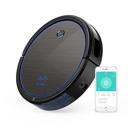 [BoostIQ] eufy RoboVac 11c Pet Edition, Wi-Fi Connected, 1200Pa (Max) High Suction, 3-Point Cleaning System, Self-Charging Robotic Vacuum Cleaner, Cleans Hard Floors to Medium-Pile Carpets