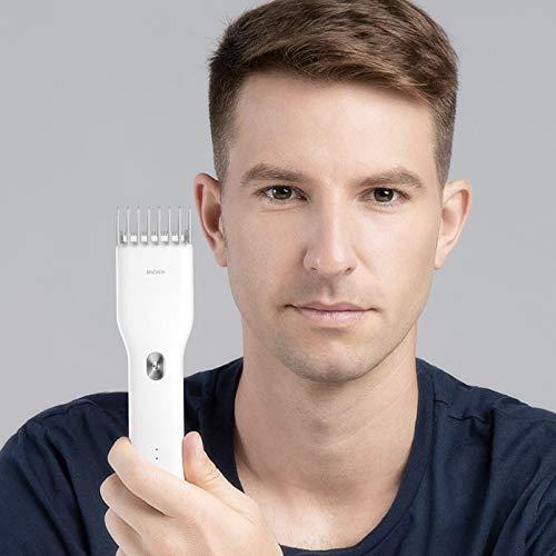ENCHEN Boost USB Electric Hair Clipper Two Speed Ceramic Cutter Hair Fast Charging Hair Trimmer Children Hair Clipper (Black)