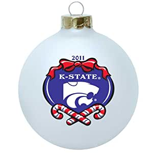 """NCAA Kansas State Wildcats Large 3 1/4"""" Ornament - 2011 Collectible Series"""