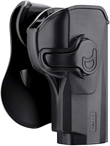 Beretta PX4 Storm Holster, Polymer OWB Paddle Holsters Fit Beretta PX4 Storm Full Size 9MM .40 S&W /.45 Auto 4'' Barrel, Outside The Waistband Carry Holster with 360° Adjustable Cant-Right Handed (Holster For Beretta Px4 Storm Compact 9mm)