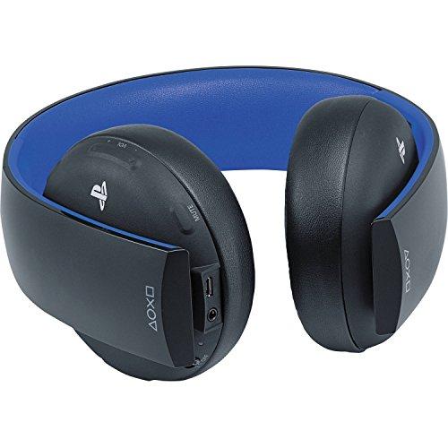 PlayStation Gold Wireless Stereo Headset - Jet Black Old Model