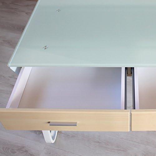 Elegante Mesa Escritorio Vidro Moderno Ordenador Mod. CONSOLLE ...