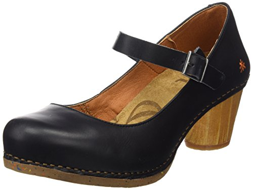 I Closed Art Women's Black Heritage Toe Heels Black Laugh Black 1113 Wrvnt7v