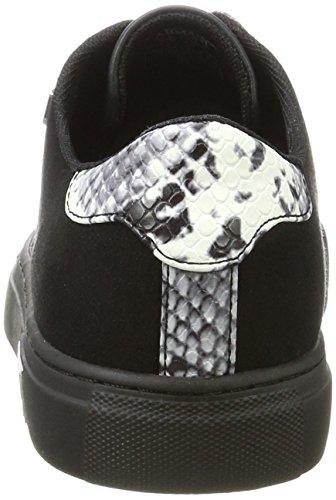 Armani Jeans Damen Sneaker Bassa Schwarz (Nero)