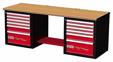 Banco Di Lavoro Usag : Usag u rd banco da lavoro racing con piano in legno