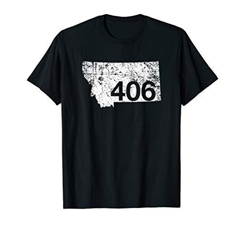 Montana Area Code 406 Shirt, Cute Hometown Souvenir Gift