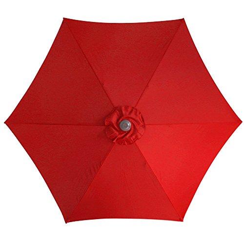 Le Papillon 9 Ft 6 Ribs Patio Umbrella Replacement Top Cover, (Umbrella Top)