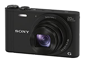 Sony WX350 18 MP Digital Camera from Sony