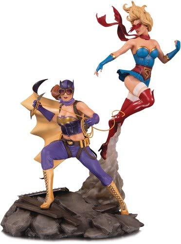 DC Bombshells: Batgirl & Supergirl Celebration Statue (Best Of Dc Celebration)