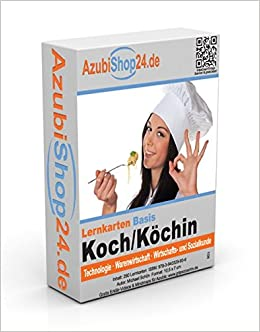 AzubiShop24.de Basis-Lernkarten Koch / Köchin: Erfolgreiche ... | {Köchin bei der arbeit 74}