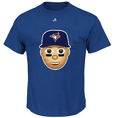 Troy Tulowitzki Toronto Blue Jays #2 MLB Youth Emoji Name & Number T-Shirt (Youth Large 14/16)