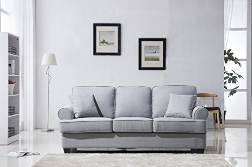Classic Plush Fabric Sofa Furniture