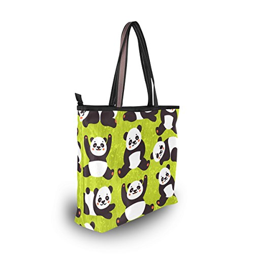 Main Griffonnage Sac Alaza Grand À tout Mignon Fourre Panda De D'épaule T6xqx0wz7