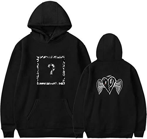 Di Interrogativo Nero Punto Stampa Uomo Rap Cool Xxxtentacion Telaio Felpa Cuore Emilyle Ali Revenge Sweatshirt Graphic Tops 1 0aqx6U4