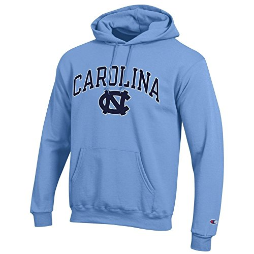 Elite Fan Shop North Carolina Tar Heels Hooded Sweatshirt Varsity Blue - XL