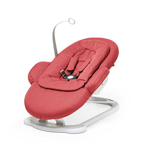 Stokke Steps Bouncer, Red - Electrical Floating Canopy