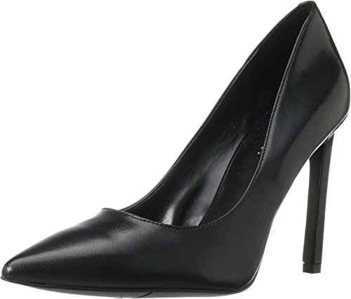 Nine West Women's Tatiana Dress Pump,Black Leather,10.5 M US TATIANA LEATHER
