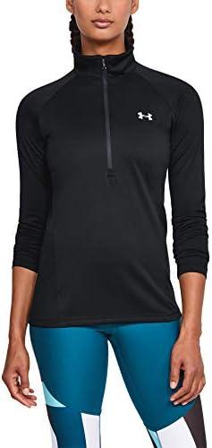 Under Armour Women's Tech 1/2 Zip Long-Sleeve Pullover