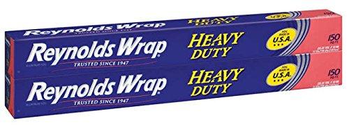 Reynolds Heavy Duty Foil 18'' X 150' Feet, 2 Pack by Reynolds Wrap